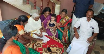 105-year-old returns to take class 4 exams after quitting school to take care of her siblings