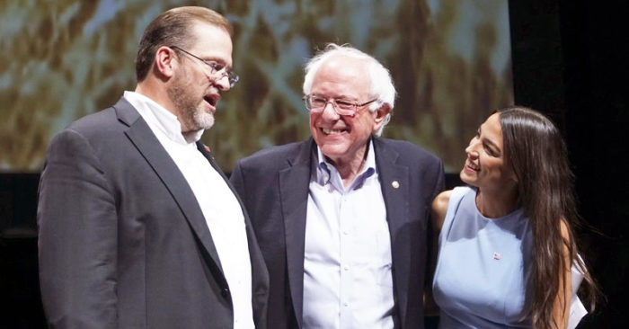 Candidate Bernie Sanders promises AOC a very important role if he is elected president