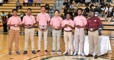 First all-black golf team won 2019 Georgia state championship gets their championship rings