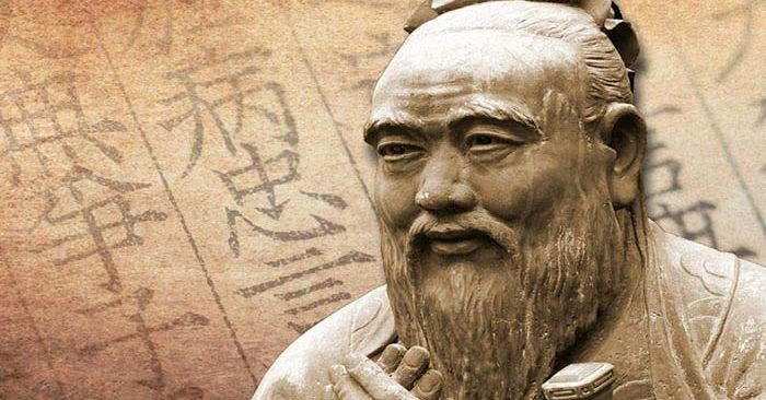 A lesson from Confucius to his child: Emphasize virtue and moral behavior