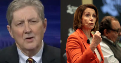 Comments from Sen. John Kennedy to House Speaker Nancy Pelosi
