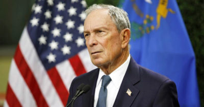 Presidential candidate Bloomberg forks out up to $20 million to register voters