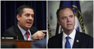 Nunes slams Schiff for fabricating President Trump's phone conversation as impeachment hearing begins
