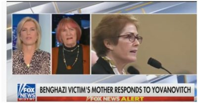Mother of Benghazi victim slams Yovanovitch for referencing Benghazi in public hearing