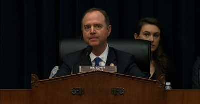 "Adam Schiff says he does not know the identity of the ""whistleblower"" behind Trump's impeachment"
