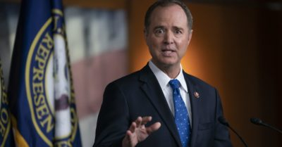 Adam Schiff vows to get rid of that 'charlatan' President Trump at Democrats State Convention