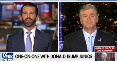 Trump Jr. on hearsay testimony: 'I've never seen anything more ridiculous'