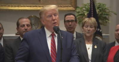 President Trump announces new health care rules to promote transparency