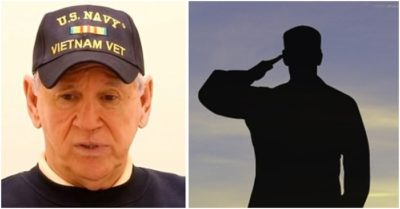 5 young men interrupt 74-year-old Vietnam veteran's meal: End up making him cry