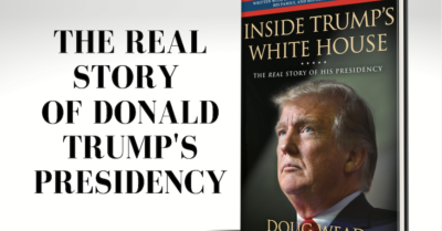 Historian's new book reveals startling details about Donald Trump on the night he became president