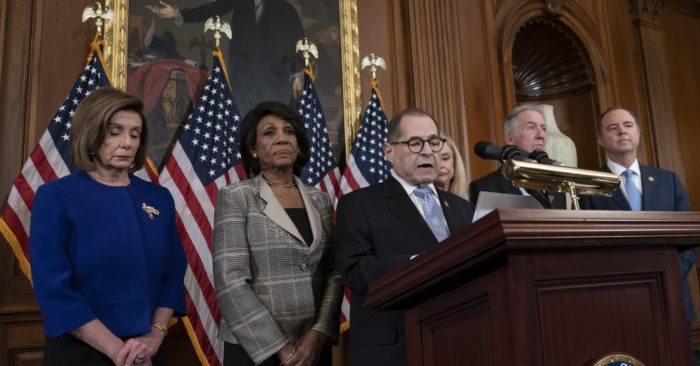Democrats Unveil Articles of Impeachment Against Trump