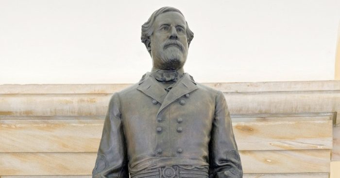 Democratic congressmen call for removal of statue of General Robert E. Lee from U.S. Capitol