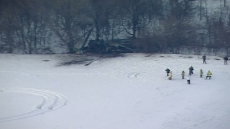 Minnesota's governor says all 3 National Guard soldiers were killed when the Black Hawk helicopter they were in crashed shortly after takeoff. (Dec. 5)