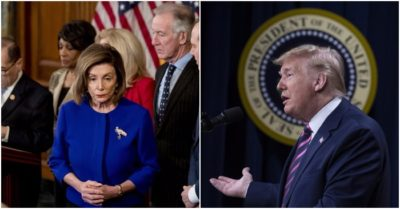 House panel approves impeachment articles, gets slammed hard; Trump: anti-impeachment poll numbers 'through the roof'