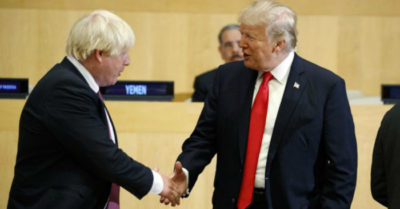 Boris Johnson's victory in the UK, a trend predicting Trump's re-election in 2020