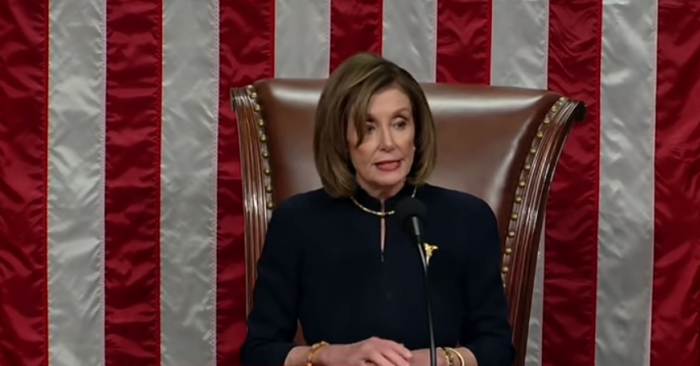 Nancy Pelosi would be adding more articles to the impeachment next year