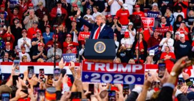 President Trump presents the achievements of his administration at a mass rally, while the Democrats continue with the impeachment inquiry