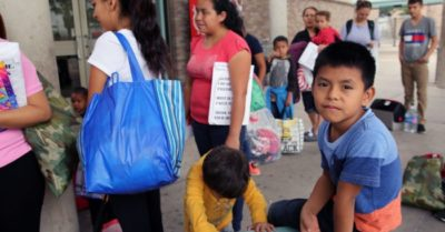 New immigration policies cause massive increase in unaccompanied children crossing the border