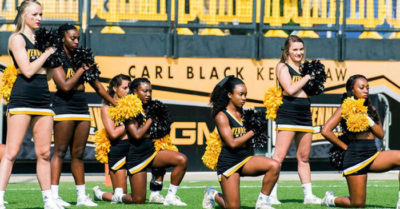 Kennesaw State University pays cheerleader who kneeled in protest during national anthem $145K in settlement