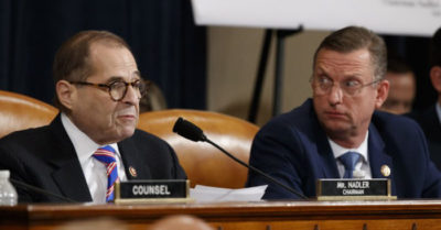 Judiciary Committee Chairman Jerrold Nadler nearly fell asleep during impeachment hearings