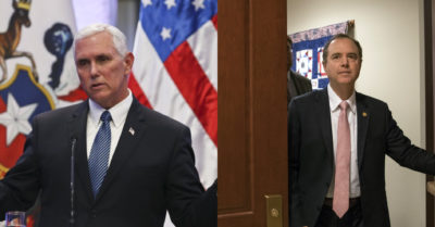 Vice President Pence confronts Adam Schiff: Not declassifying phone call with President Zelenskiy