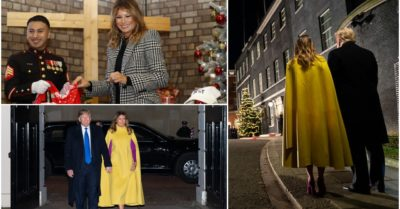 Beautiful photos of First Lady Melania Trump in London