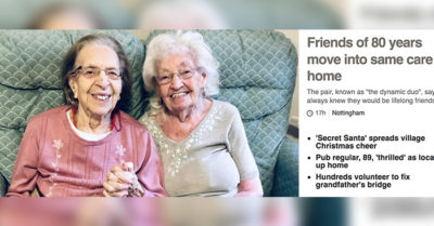 Best friends of almost 80 years move into same care home