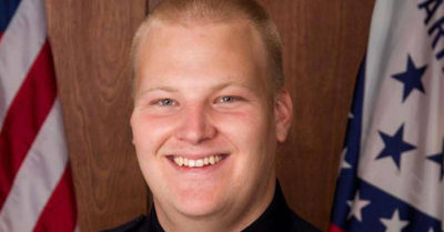Surveillance videos show 'heinous' killing of Arkansas police officer