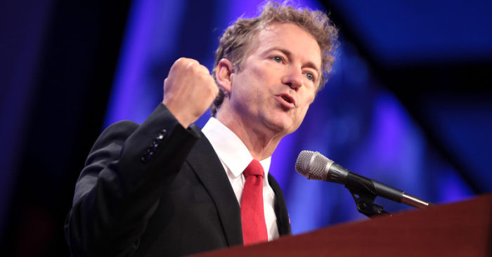 Sen. Rand Paul reads the question he was forbidden to ask about the anonymous whistleblower in the impeachment