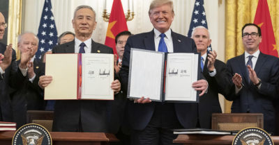 Historic US-China trade deal signed, eases tension between the two countries