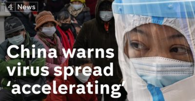 Communist Party deceit responsible for out-of-control coronavirus spread