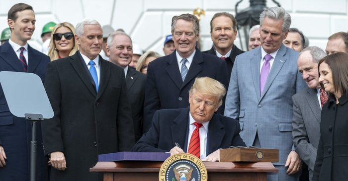 """The USMCA agreement """"is the biggest in history"""" and marks a milestone in world trade, says a former presidential advisor"""
