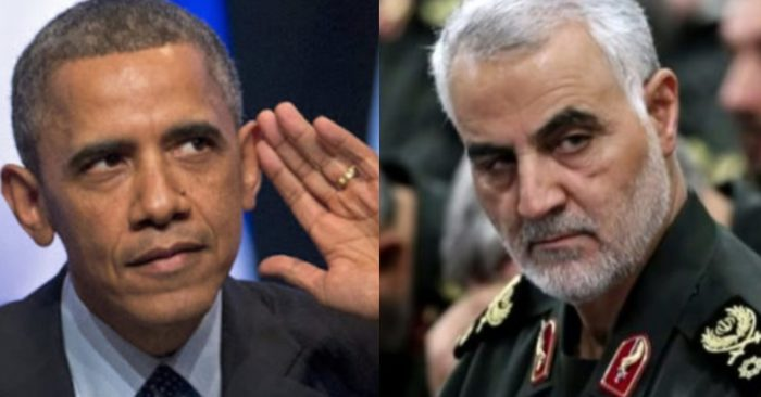 Obama granted amnesty to terrorist leader Qassem Suleimani as part of agreement with Iran