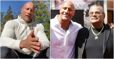 Dwayne Johnson reveals cause of dad's 'quick' death, thanks fans for support