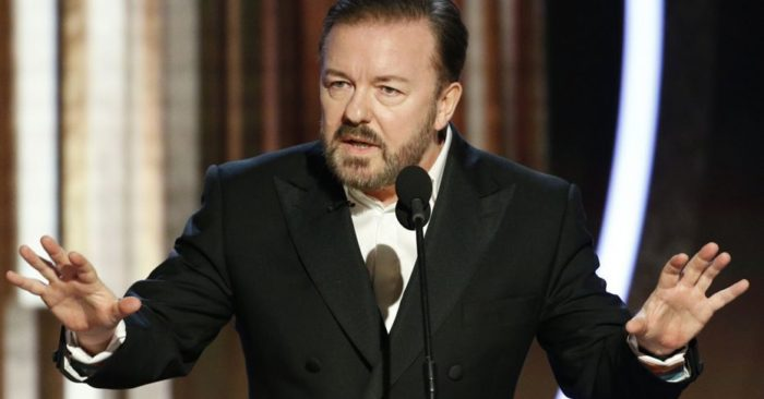 Ricky Gervais responds to criticism that his Golden Globes monologue offended celebrities