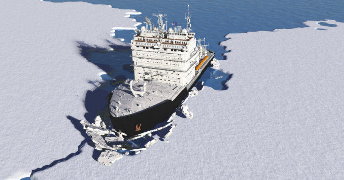 Illustrative image. Two Chinese icebreakers are exploring the Arctic. (Shutterstock)