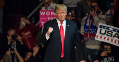 President Trump: 'Big WIN for us in Iowa tonight'