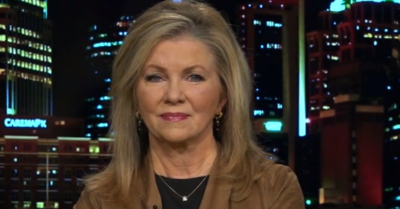 'It's a political farce': Sen. Marsha Blackburn points comments on President Trump's trial