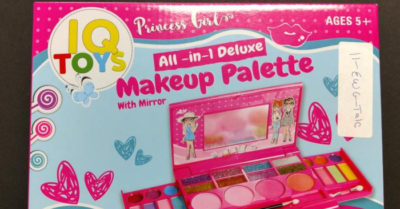Children's makeup kit is full of asbestos-deadly carcinogen