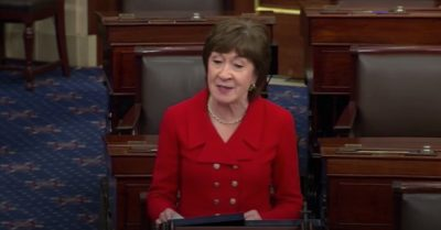 Sen. Collins explains why she will vote to acquit President Trump