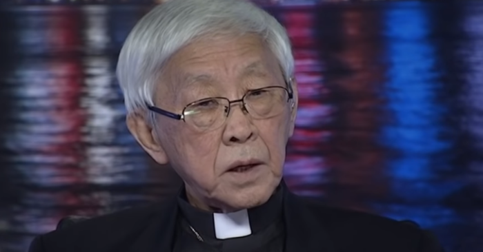 "The Chinese regime wants the ""surrender"" of the Vatican, denounces Cardinal Zen"