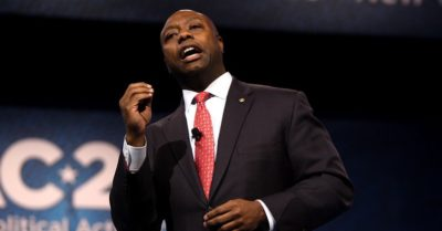 African American vote would guarantee President Trump's re-election, projects Sen. Tim Scott