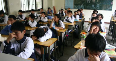 Westernized' texts are updated in Chinese schools to reinforce the ideology of the communist regime