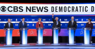 10th Democratic presidential debate reveals a clear contest between divergent views