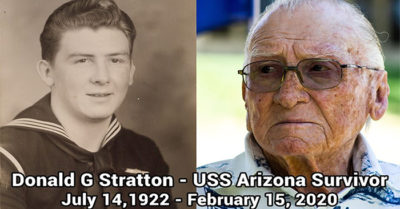 One of the last survivors of the USS Arizona dies at age 97
