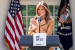 Melania Trump surprises with a forceful speech criticizing Joe Biden for his socialist tendency