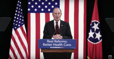 Bloomberg, big donor to DNC, to make the stage for the first time after party unveiled new criteria