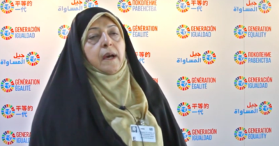 Iranian Vice President Ebtekar, spokeswoman for the 1979 hostage-takers, has coronavirus