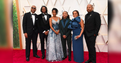 Texas black teen who refused to cut dreadlocks attends Oscars with creators of 'Hair Love' film