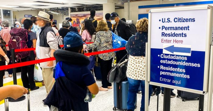 Americans stranded abroad by the CCP virus are returned by ICE